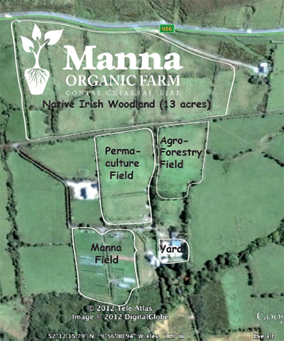 Map of Manna Farm